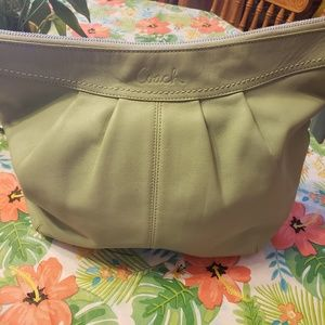 Authentic Coach Mint Green Hobo